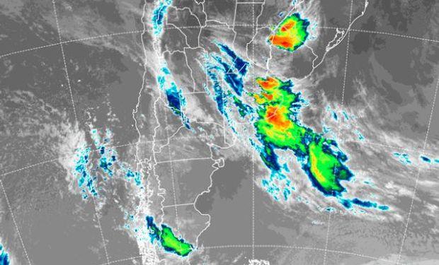 Lluvias: amplio alerta del SMN anticipa acumulados de hasta 40 mm en zonas de Buenos Aires