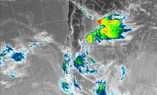 Se esperan abundantes precipitaciones sobre las regiones afectadas.