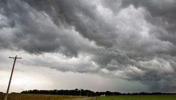 Importante despliegue de tormentas
