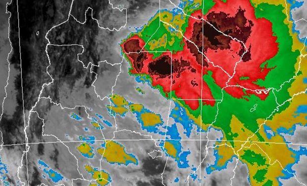 Tormentas fuertes sobre regiones del norte.