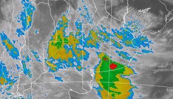 Regresan las tormentas fuertes sobre 5 provincias