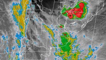 Amplio alerta por tormentas fuertes