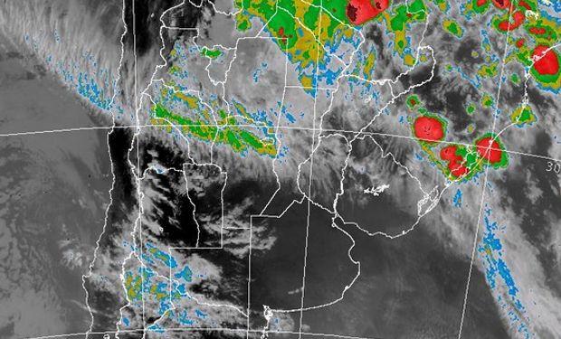 Imagen Satelital actual del SMN