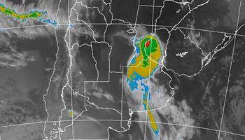 Sorprenden algunas tormentas en el sur de Santa Fe