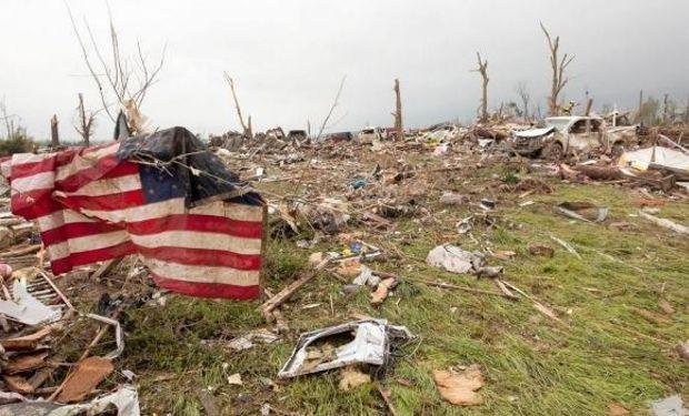 Tormentas e inundaciones azotan al sudeste de EE.UU.