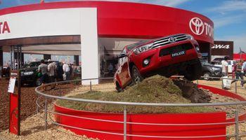 Toyota Argentina junto al campo en Expoagro 2018