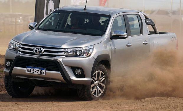 Toyota Hilux en Expoagro.
