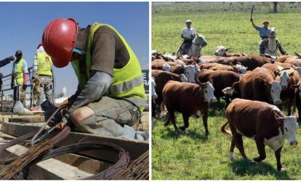 Las actividades que mostraron mayor vocación por utilizar el programa son la construcción y el agro.