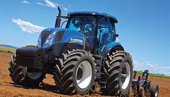 El tractor New Holland, emblema de las próximas ediciones de Expoagro