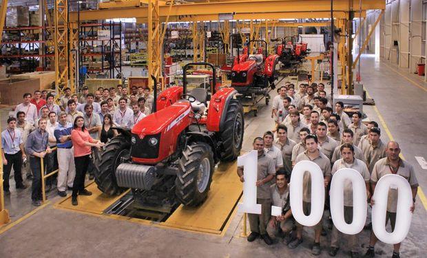 El tractor 1.000 está equipado con motor AGCO Power fabricado en la planta de motores inaugurada en 2014.