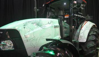 El tordo: un tractor que parece un cuadro