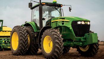 Los tractores impulsaron una suba en la venta de maquinaria agrícola