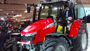 El tractor del año 2016 es Massey Ferguson