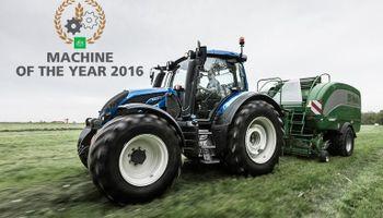 Tractor VALTRA reconocido en Agritechnica 2015