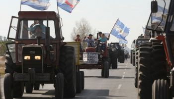 """Anuncian """"tractorazo"""" para protestar contra el Gobierno"""