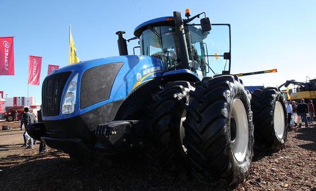 La venta de tractores tuvo una fuerte suba en julio pasado.