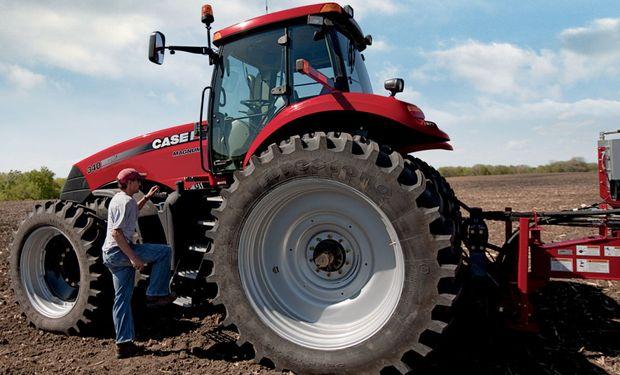 En 2016 se declararon importaciones argentinas de 212 tractores.