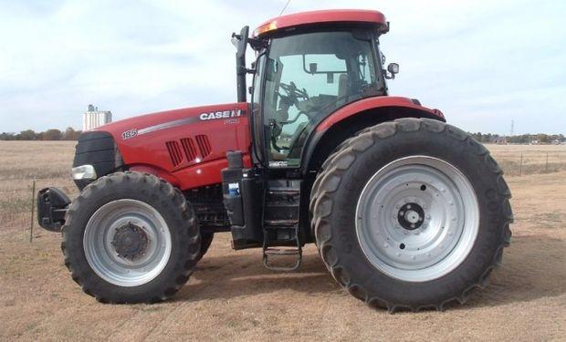 Importación de tractores en el primer bimestre del año.