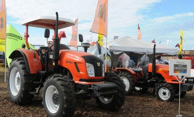 Taurus dijo presente en Expoagro con los tradicionales tractores Someca