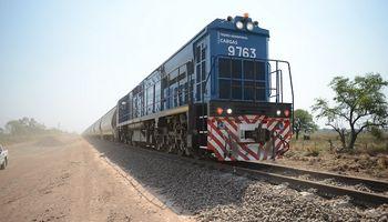El transporte de granos creció un 92% en el tren San Martín