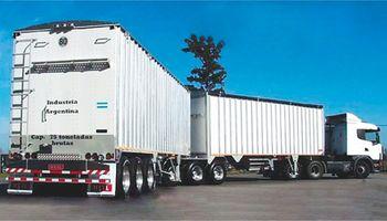 Aval oficial a la producción y circulación de camiones de hasta dos acoplados