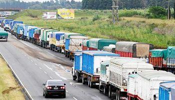 Transportistas de granos paran el lunes