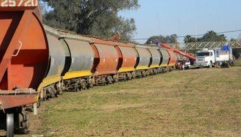 Cae la carga total transportada por ferrocarril en la Argentina