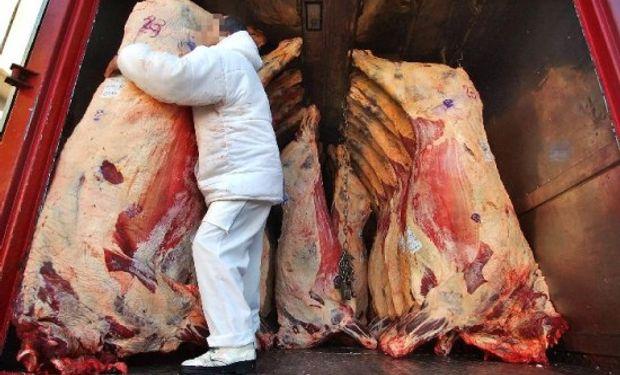 Transporte de carnes.