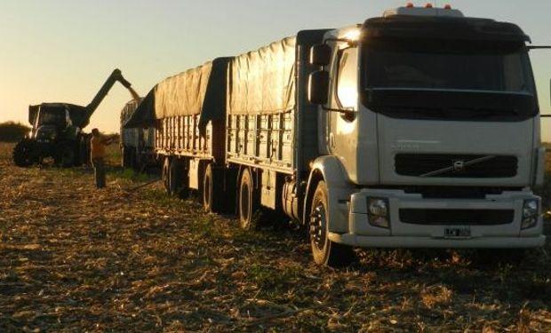Los transportistas de cereales se quejan de la menor actividad.