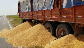 Se levantó el paro de camioneros de granos autoconvocados