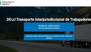 Atención productores: el documento electrónico del Ministerio de Agricultura para circular en la cuarentena