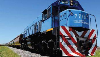 El transporte de carga en trenes creció casi 20% frente a 2015