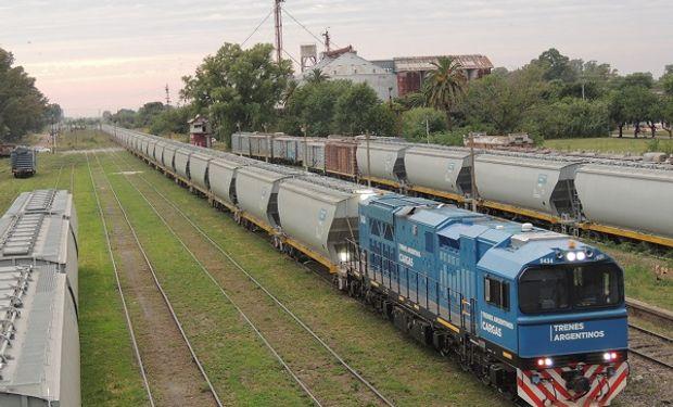 Transporte de granos: Trenes Argentinos sumó un nuevo flujo comercial entre La Pampa y Bahía Blanca
