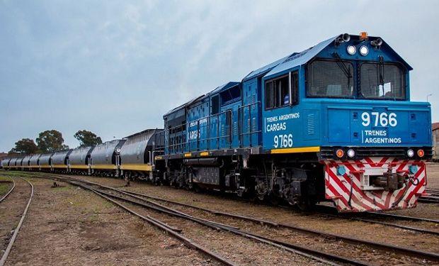 Trenes Argentinos transportó un 15 % más durante el 2020 y el 65 % correspondió a granos