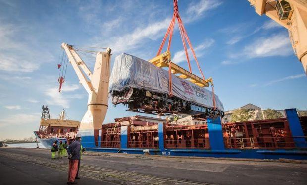 Con este nuevo material rodante más la futura renovación de las vías, el San Martín pasará de transportar cinco veces más carga  en la próxima década.