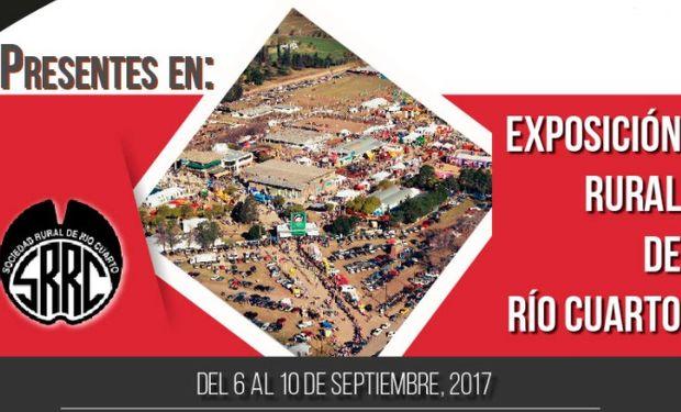 Tres Eme en la Expo Rural de Río Cuarto.