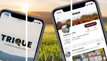 Trique: de dónde son los usuarios que se sumaron a la primera red social del agro