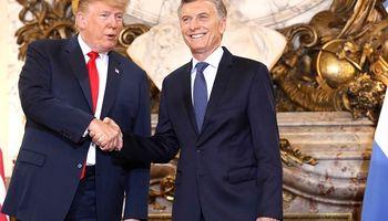 """Trump, al encontrarse con Macri: """"Tenemos mucho de qué hablar"""""""