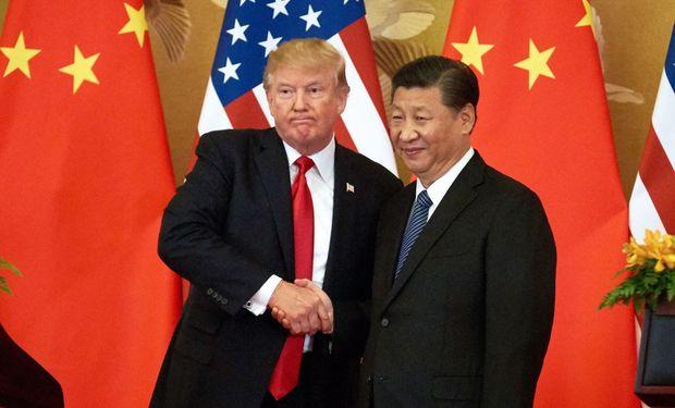 Trump se muestra optimista sobre un acuerdo con China.