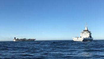 Argentina capturó el buque chino que se fugó por realizar pesca ilegal