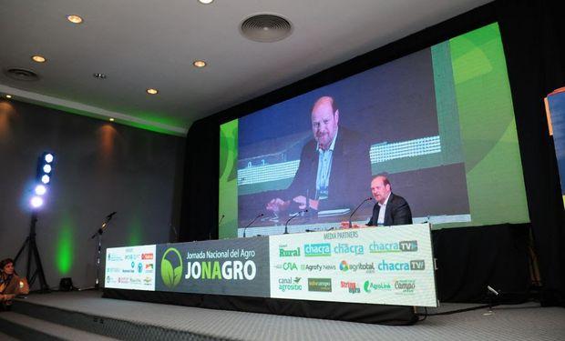 Gustavo Grobocopatel, presidente del Grupo Los Grobo, ofreció un panorama del sector agropecuario