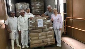 """Una Cooperativa entregó 927 kilos de queso para """"garantizar alimentos a precio justo"""""""