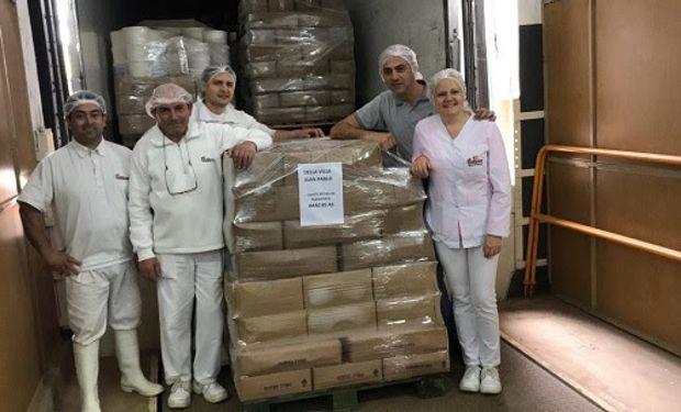 La Cooperativa de James Craik realizó primera entrega de quesos.