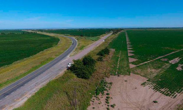 Quedaron habilitadas las obras de mejoramiento del Camino S266.