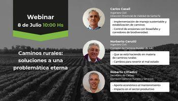 #AgrofyNewsWebinars: caminos rurales, una problemática recurrente