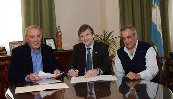 CONINAGRO firmó un convenio con la Bolsa de Cereales de Buenos Aires
