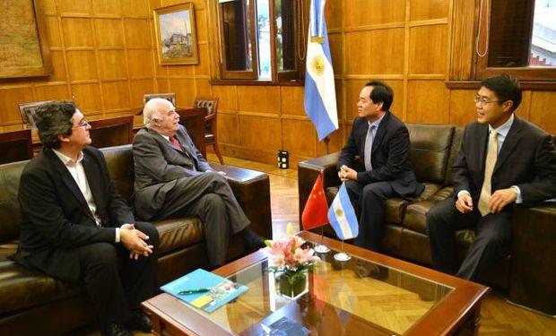 Casamiquela recibió al nuevo embajador de la República Popular de China