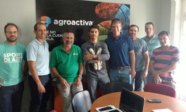 El contingente llegó de la mano de la consultora de Hendrik Jodaan en Argentina y la empresa Rural & Rugby Tours del país oceánico. Además se realizó una recorrida por una explotación agroganadera de la zona.