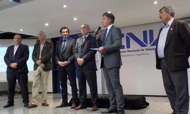 Andrés Ponte, presidente de Rofex, ayer en la apertura del evento.