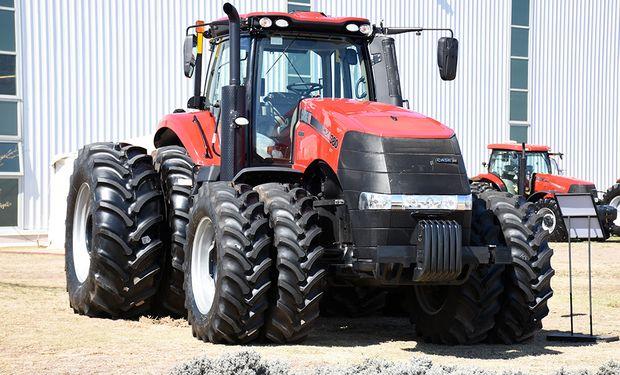 Los Magnum CVT son propulsados por motores FPT Industrial de 8.7 litros.